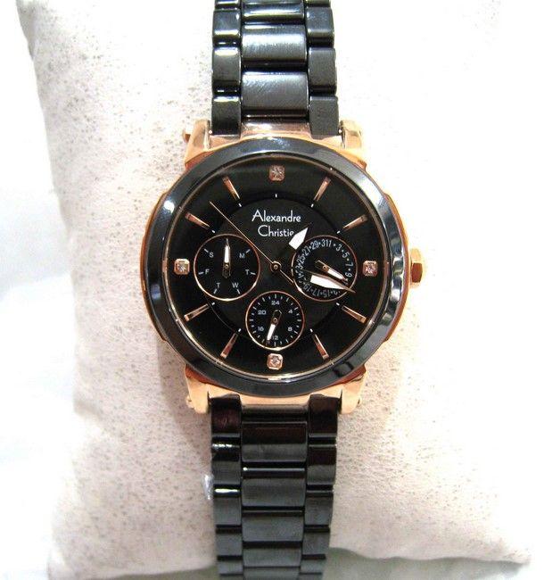 jam tangan wanita alexandre christie terbaru kw