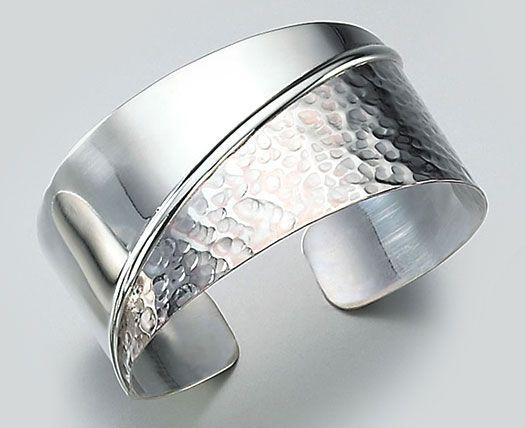Metal Jewelry Women S Sterling Silver Cuff Bracelet Bangles