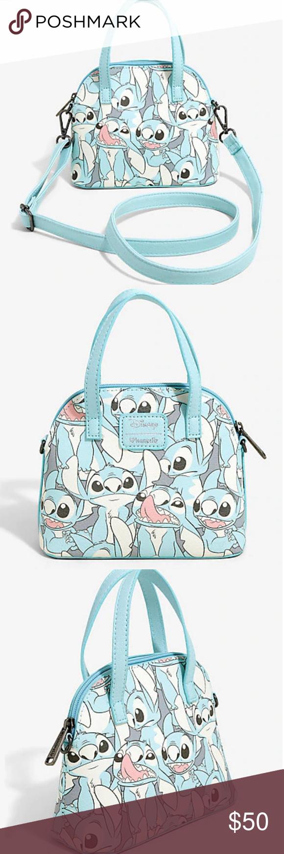Loungefly Disney Lilo & Stitch Dome Crossbody Bag  Loungefly Disney Lilo & Stitch Dome Crossbody Bag #stitchdisney