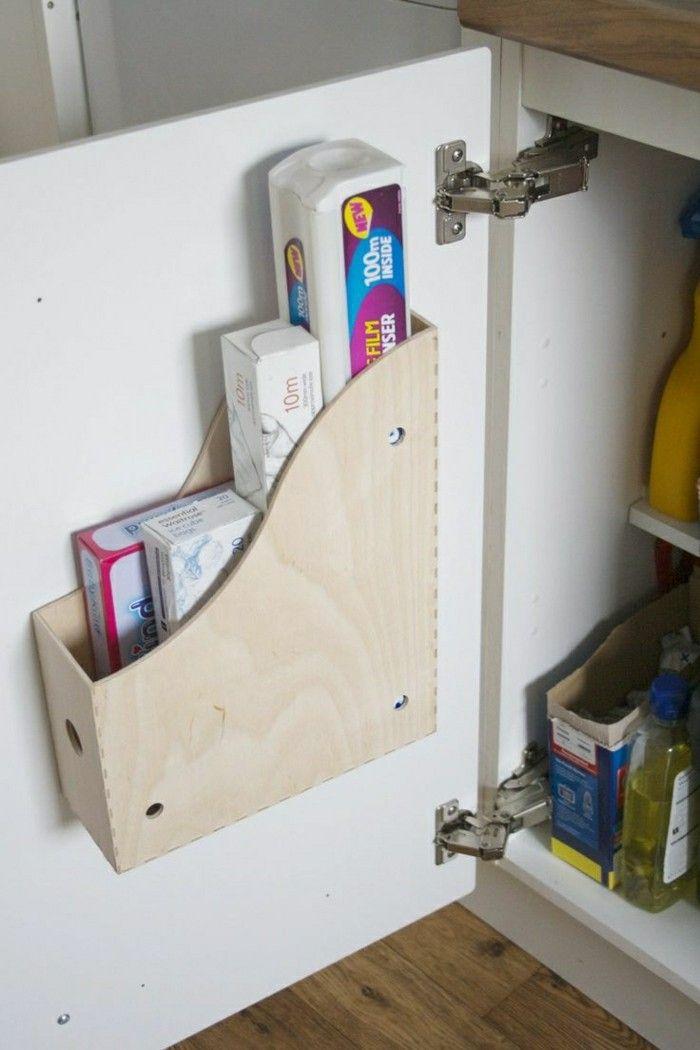 stauraum ideen für die küche Wohn Ideen Pinterest