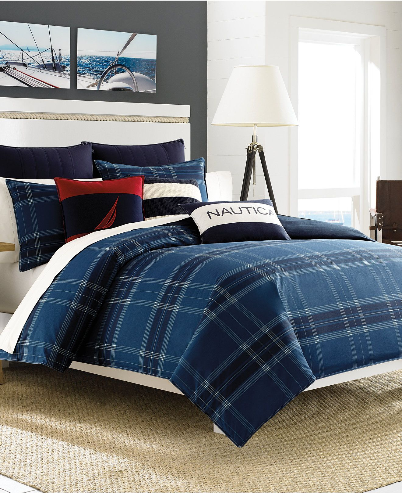 Nautica Akeley Comforter And Duvet Cover Sets   Bedding Collections   Bed U0026  Bath   Macyu0027s