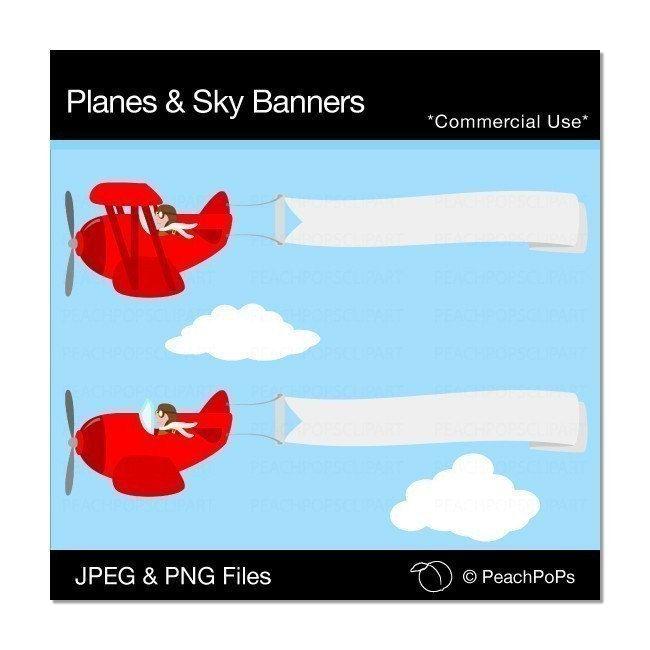 cute plane clip art airplane clipart digital clip art planes and rh pinterest com image clipart ski sky clip art black and white
