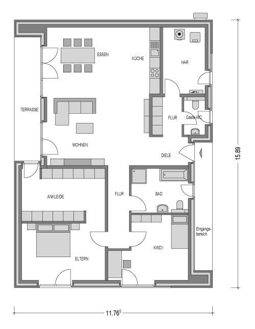 velum heinz von heiden grundriss bungalow pinterest grundrisse grundriss. Black Bedroom Furniture Sets. Home Design Ideas