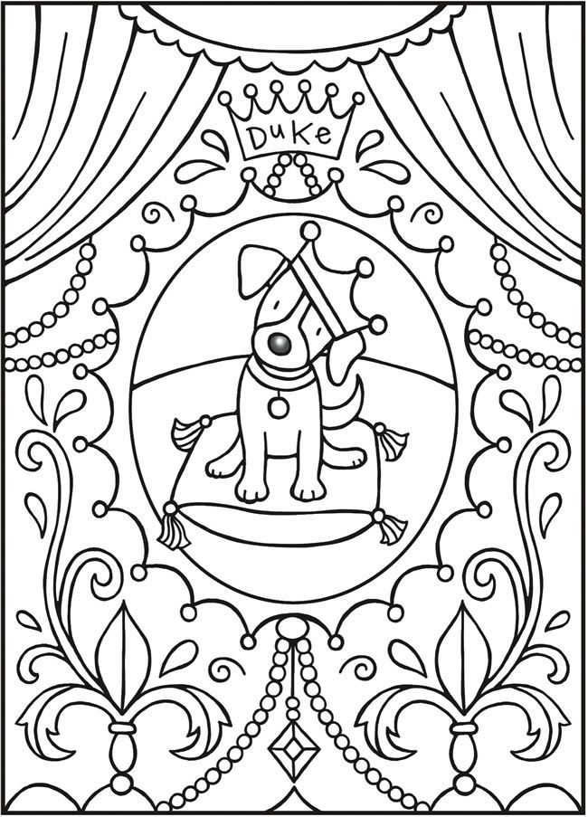 Welcome to Dover Publications-SPARK Puppy Love   Printables ...