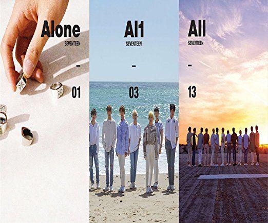 SEVENTEEN - Al1 (4th Mini Album) [1+2+3 Ver  SET] ] CD+