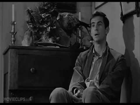 """""""A boy's best friend is his mother..""""  Norman Bates (Anthony Perkins) Psycho 1960."""