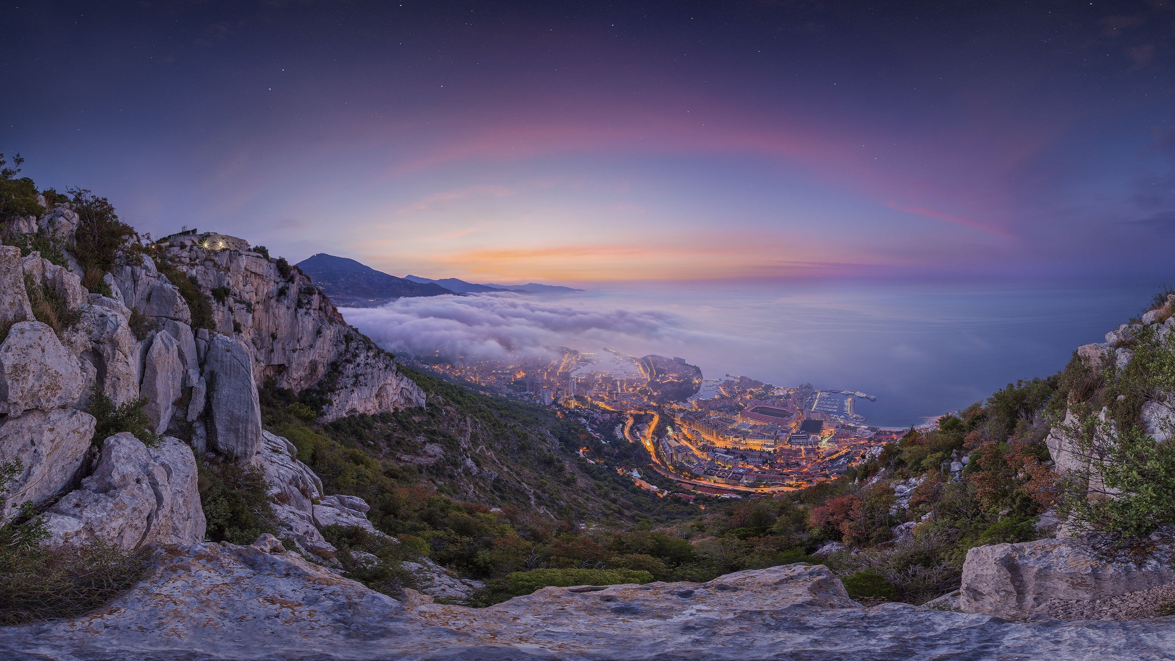 sunrise Summer Monaco 4k pics ultra hd 4K wallpaper