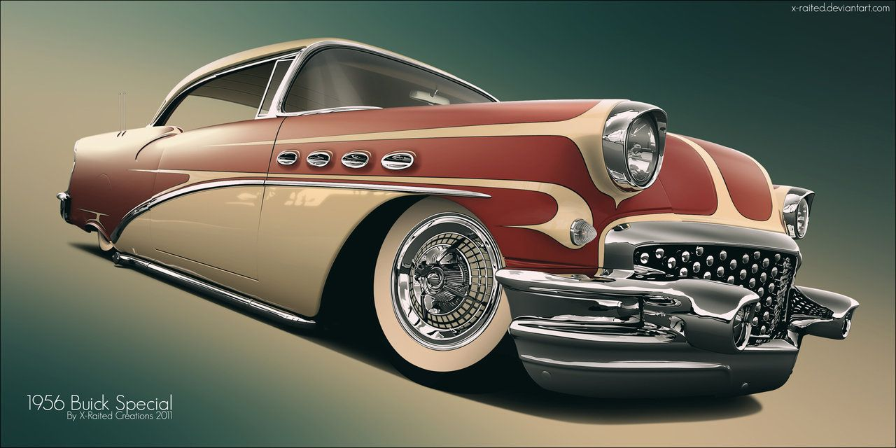 Custom1956 Buick Special by X-Raited.deviantart.com on @deviantART