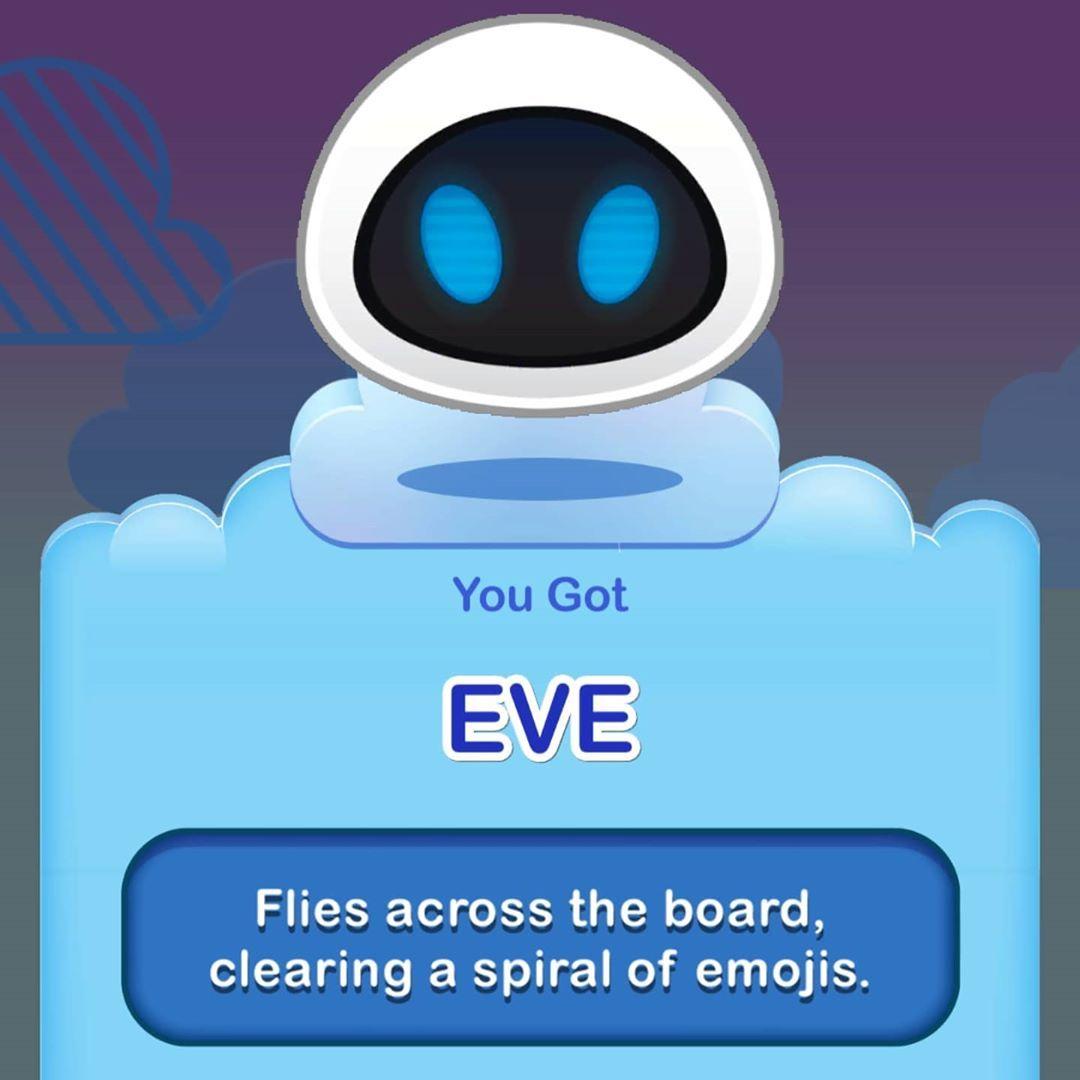 Eva Disneyemojiblitz Emojis Disney Gaming Gamers Mobilegames Mobile Gaming Disneypixar Robots Walle Walleandeve Earth Enchanted En 2020 Emojis