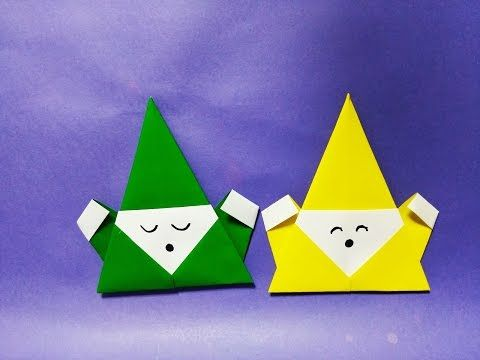 How To Make Paper Origami Santa