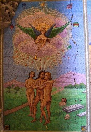 XXII lames du Tarot, Beautiful mosaic work!