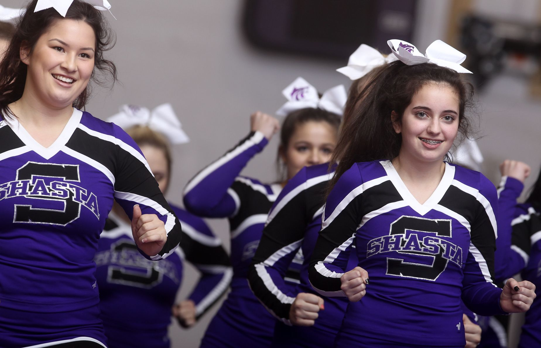 Redding record searchlight sports - Greg Barnette Record Searchlight Shasta High Cheerleaders Head To Competition Http