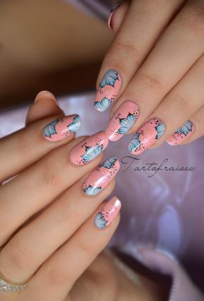 Nail art water decals Tartofraises | Tartofraises