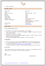 Over 10000 Cv And Resume Samples With Free Download Example Of Cv Templates Resume Examples Cv Examples Job Resume Format
