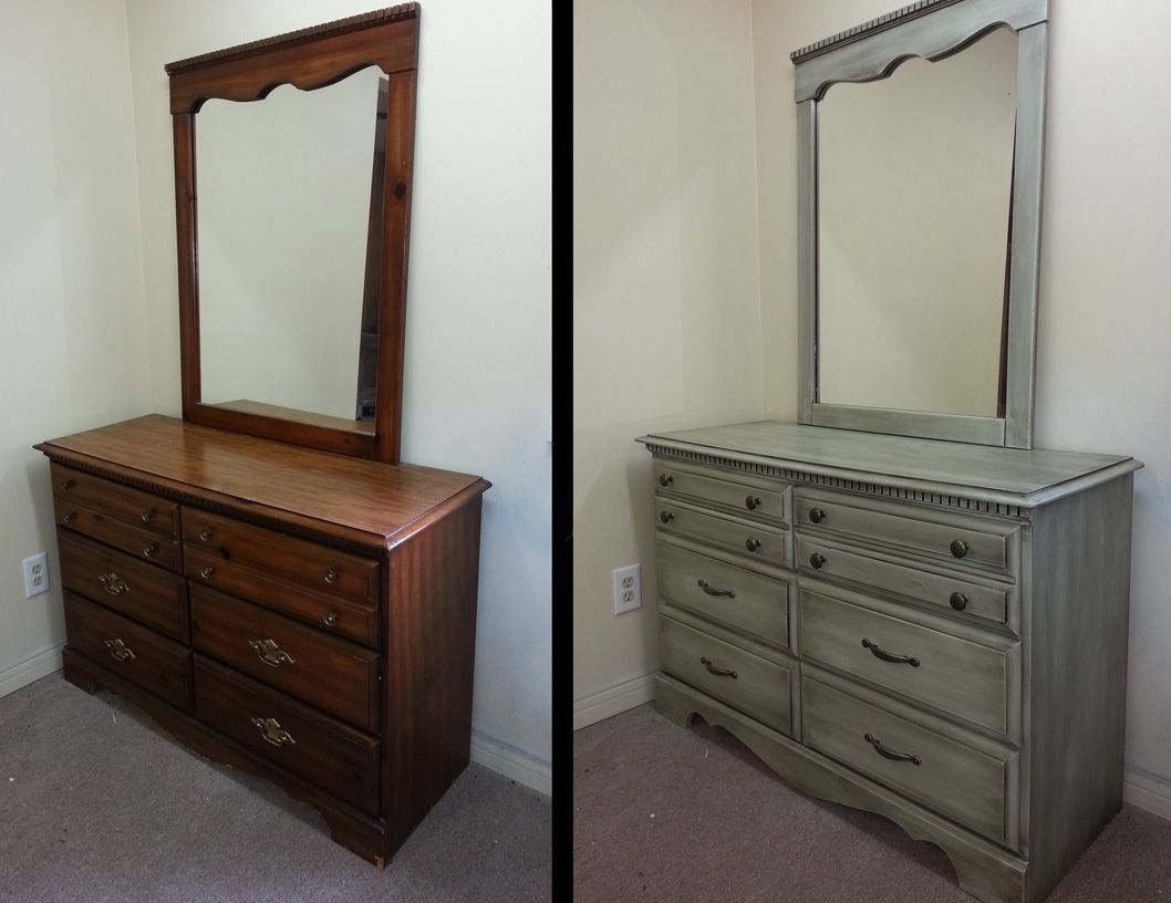 Image Result For Painting Bedroom Furniture Before And After