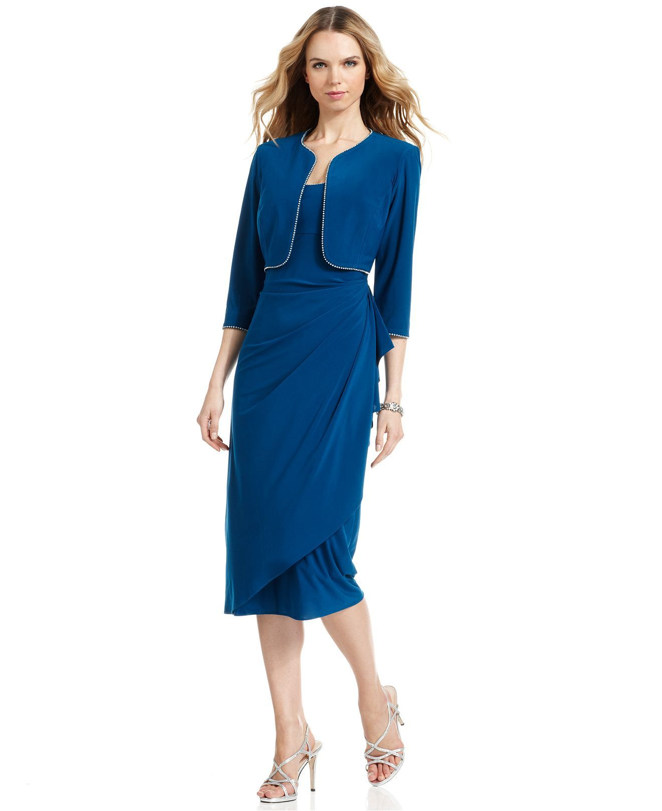 Macy's Tea Length Dresses