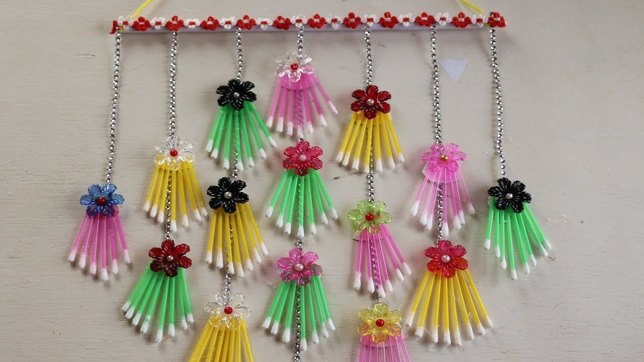 Wow Amazing Craft Ideas How To Make Wall Hanging Using Cotton