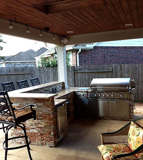 Outdoor Kitchens Pictures Outdoor Kitchen Cooking Outdoors To Enjoy The Houston Flavors Build Outdoor Kitchen Outdoor Kitchen Plans Best Outdoor Grills