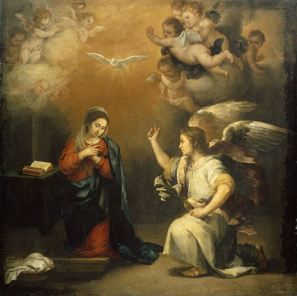 Fr Humberto S Blog Solemnity Of The Annunciation Of The Lord The Power Of Personal Freedom Baroque Painting Annunciation Art