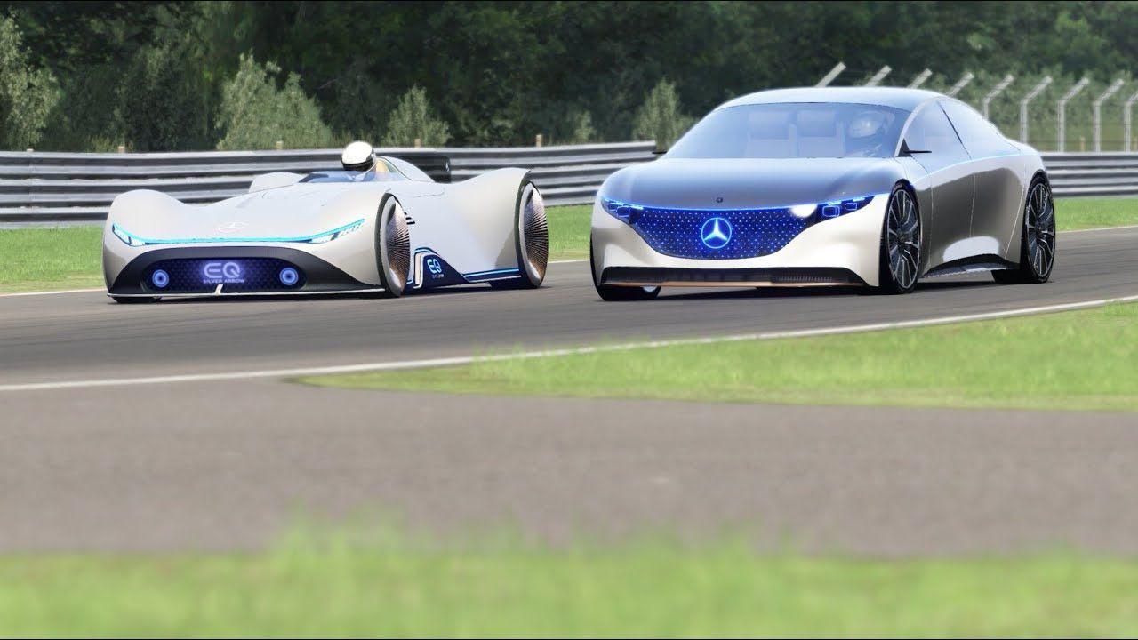 Mercedes Benz Vision Eq Silver Arrow Concept Vs Mercedes Benz Vision Eq Mercedes Benz Amazing Cars Benz