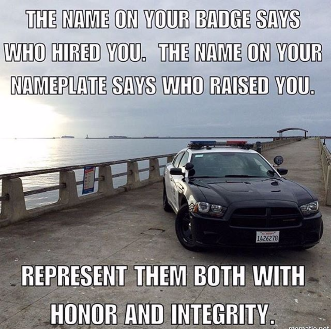 Your badge and your nameplate All Law Enforcement save when buying a home with #TeamSumo www.homesforsaleinbossiercityla.com