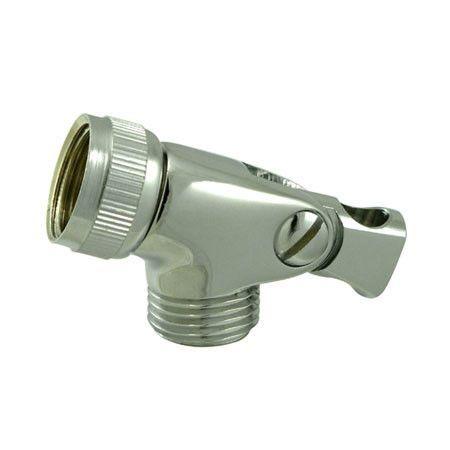Polished Brass Swivel Connector For Hand-Held Shower Hose