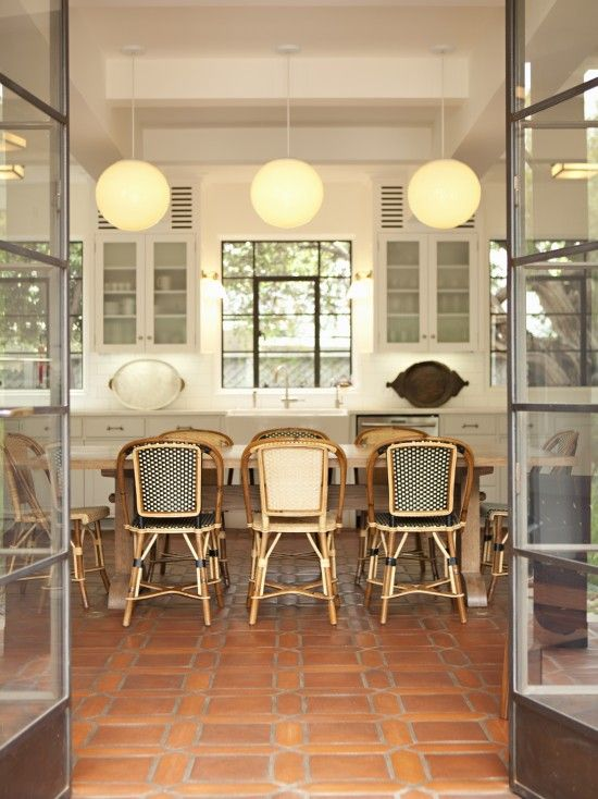 terracotta tiles floor | dining | pinterest | tile flooring