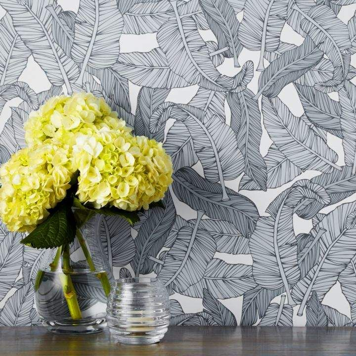 Best Chasing Paper Banana Leaf Removable Wallpaper Ad 400 x 300