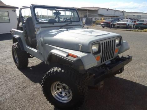 Used 1989 Jeep Wrangler Crossover For Sale In Nevada Jeep