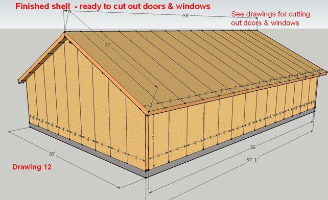 Self Build Shed Kits