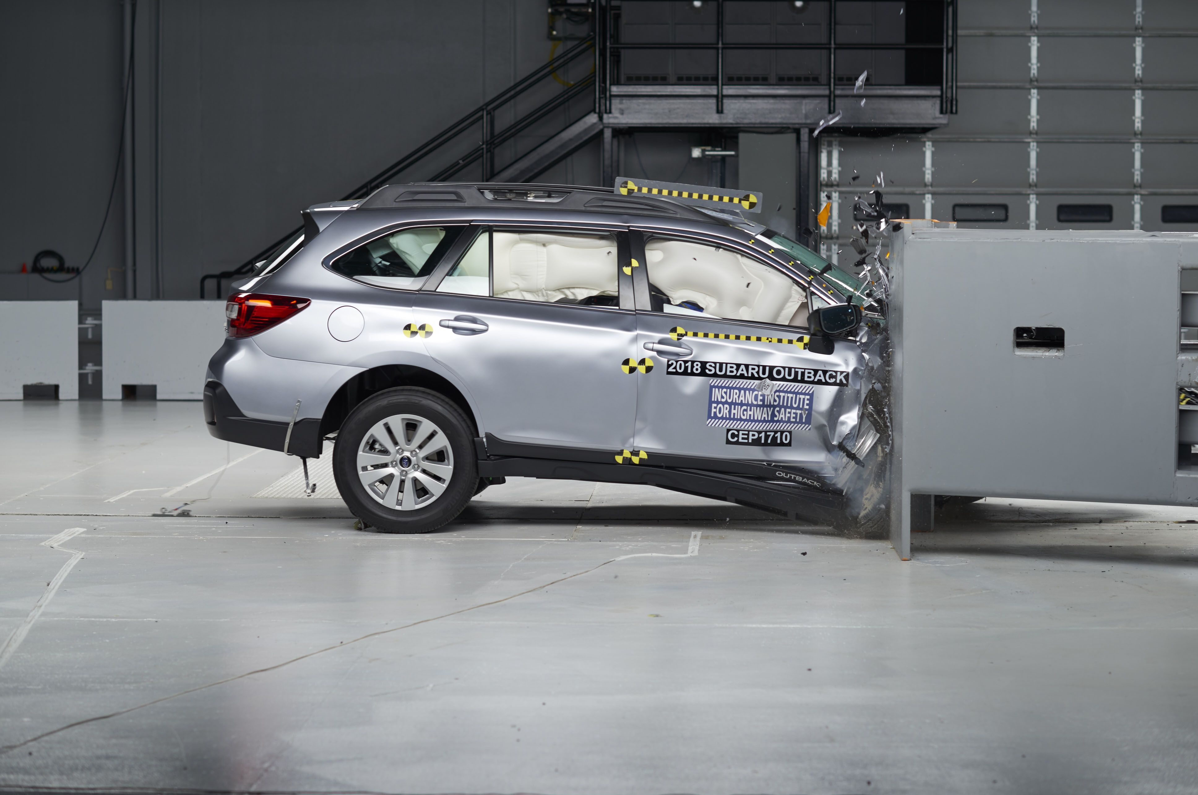 Iihs Throws Another Hurdle At Automakers The Passenger Side Small