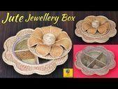 (78) DIY Schmuck Organizer Mit Jute Seil Und Pappe | Mu ... -  (78) DIY Jewelry Organizer With Jute Rope And Cardboard | Multipurpose Organizer…  (78) DIY Schmu - #jewelryaccessories #jewelrydiy #jewelrynecklace #jewelryunique #jewelryvintage #organizer #pappe #schmuck #bijouxbricolage
