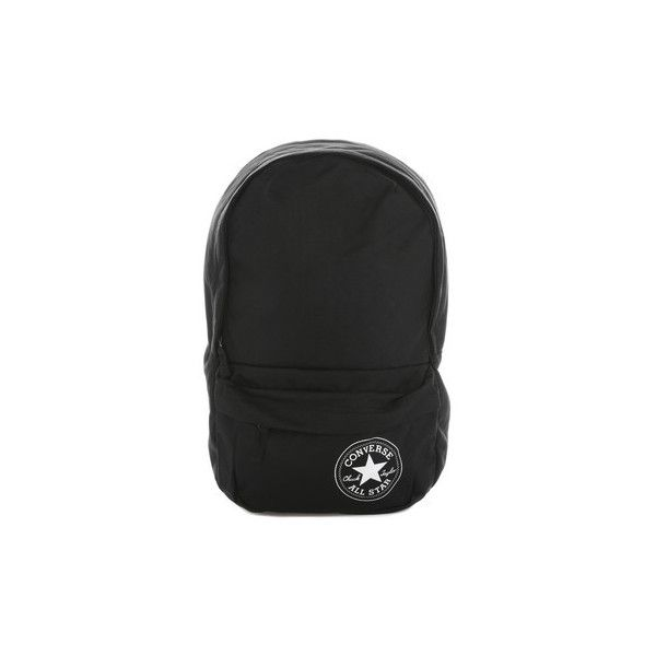 Converse Black Playbook Mini Backpack Backpack ( 30) ❤ liked on Polyvore  featuring bags cf43eb35e8815