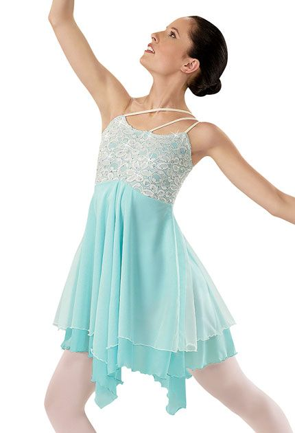 Nice Lace Overlay Ballet Dress; Weissman Costumes. Also Comes In A Pretty Light  Purple And Light Pink All The Colors Are Adorable And Stunning In The  Costume.