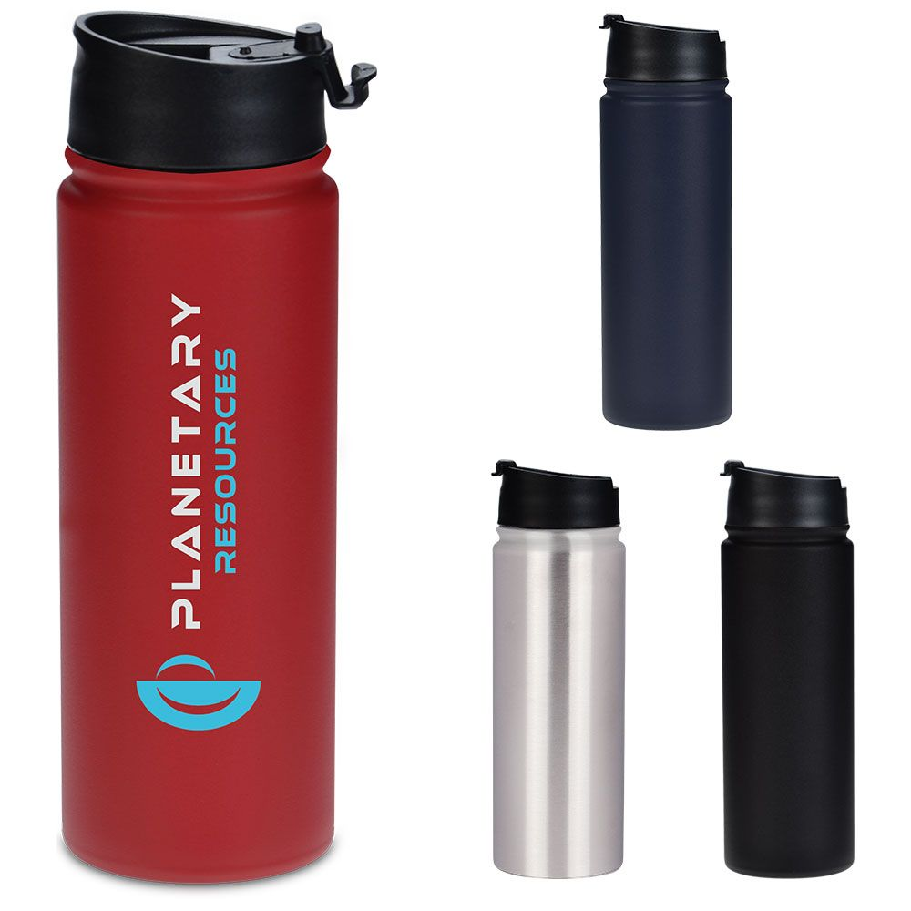 Expanse Series 20 Oz Double Wall Stainless Steel Copper Vacuum Insulation Twist On Flip Open Lid With Sna Water Bottle Bottle Reusable Water Bottle