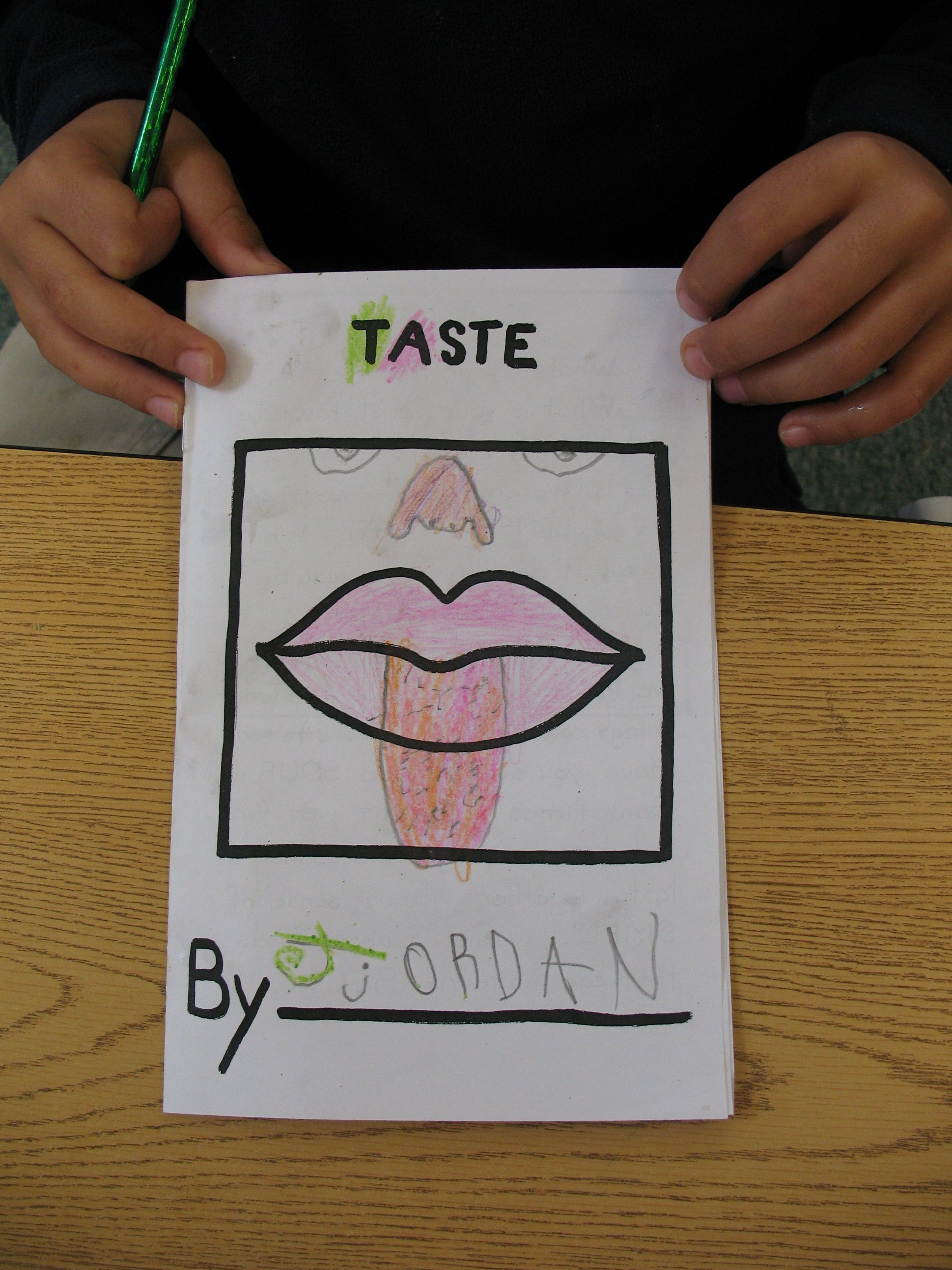 Sense Of Taste Preschool Theme