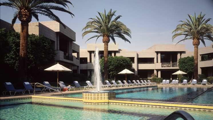 At The Arizona Biltmore A Walforf Astoria Resort The Historic 1924 Catalina Pool Was Built By William Wrigley Jr W Arizona Biltmore Astoria Hotel Biltmore