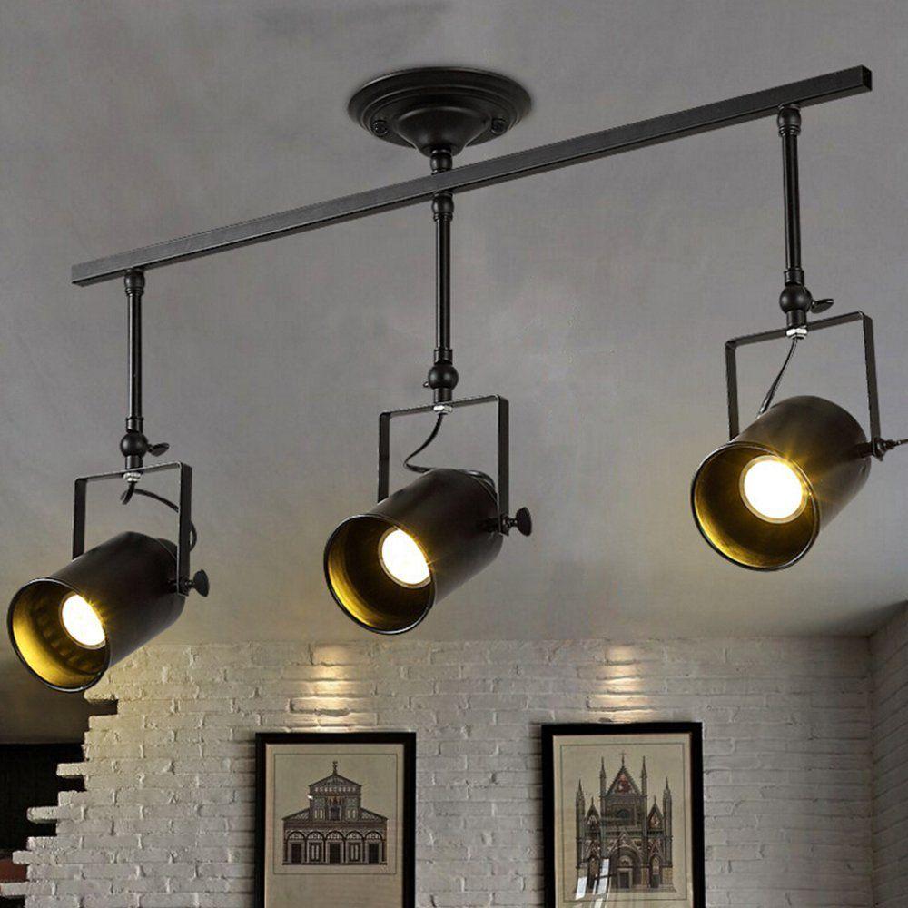 49 Retro Industrielle Schienen Deckenleuchte Motent Vintage Stil 3 35 Breite Zylinder Lampe Schienenleuchte S Beleuchtung Wandbeleuchtung Kuchenbeleuchtung