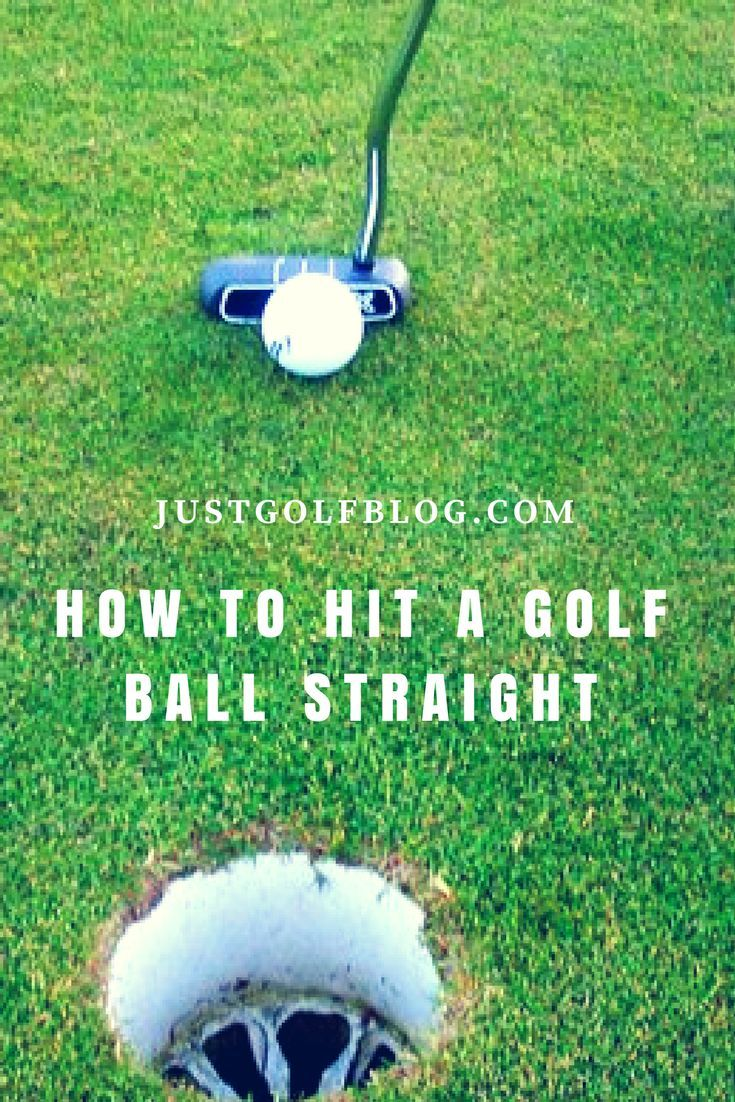 How to hit a golf ball straight every time how to drive