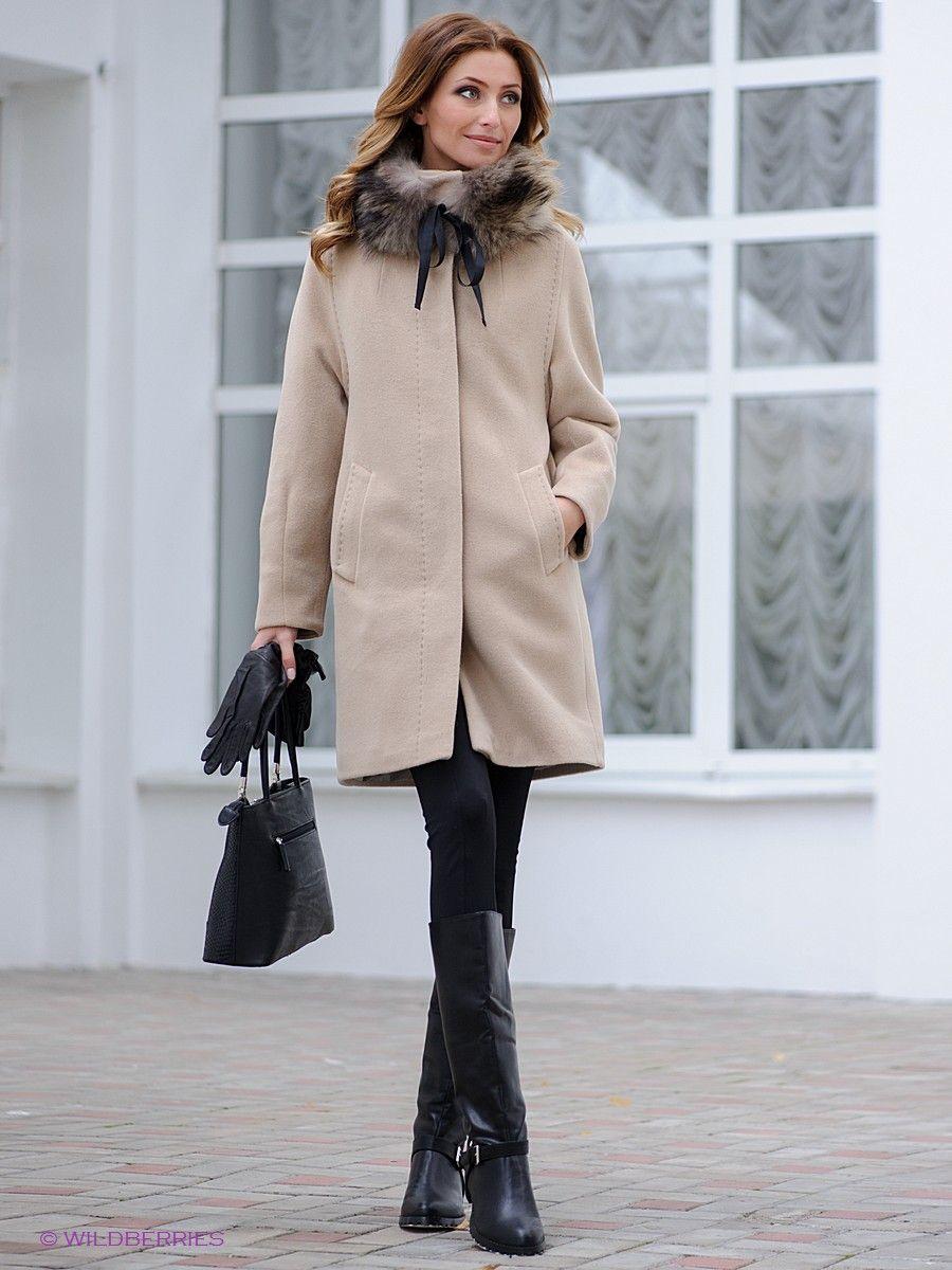бежевые пальто 2