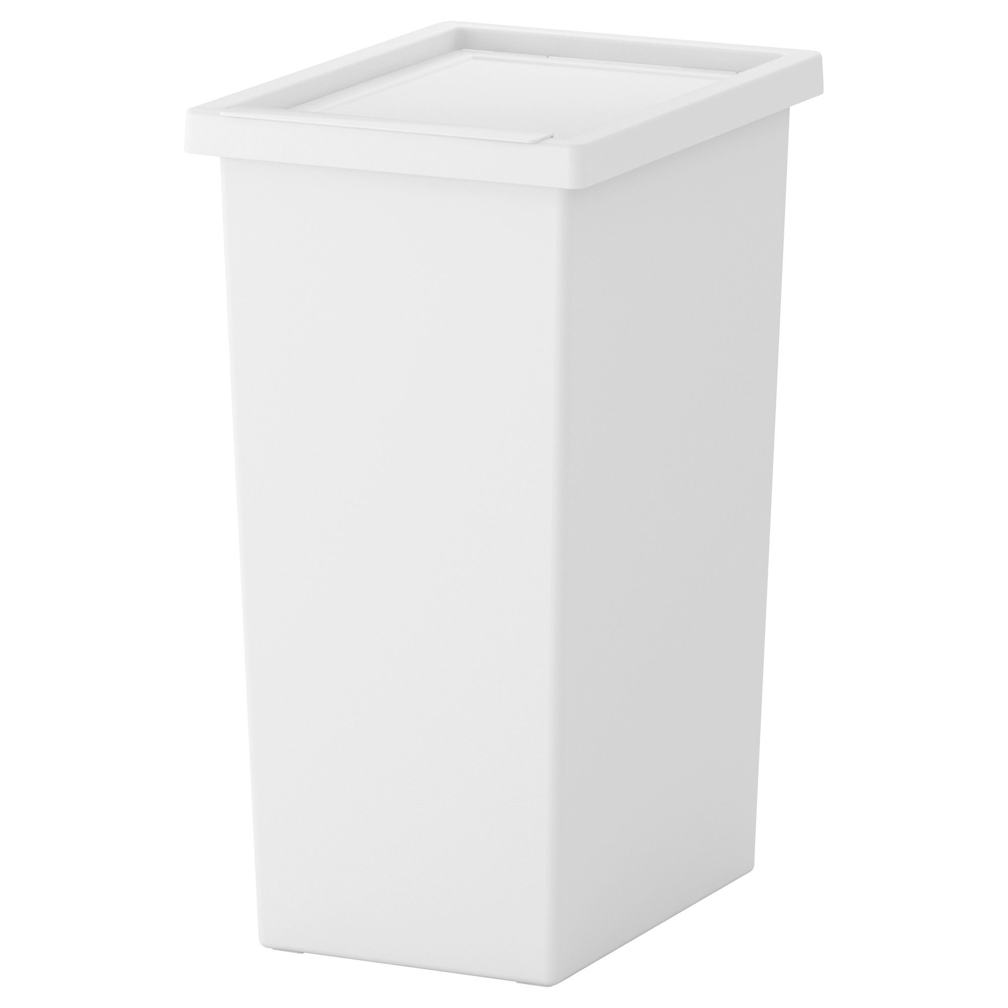 Filur bin with lid white my ikea list ikea deckel tonne for Ikea raccolta differenziata