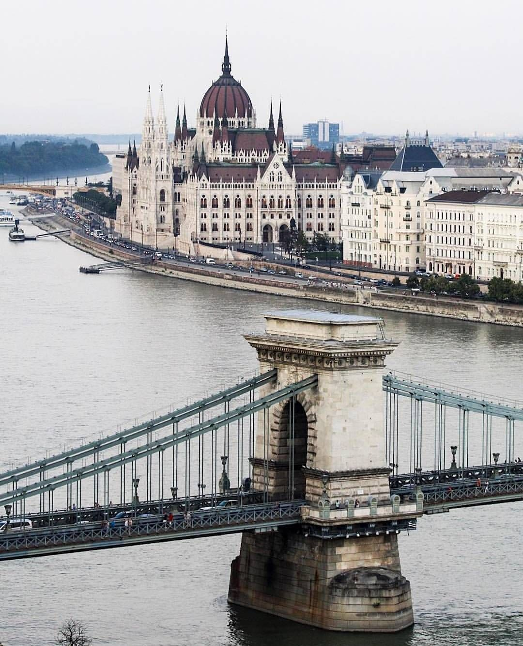40 5k Likes 245 Comments Living Europe Living Europe On Instagram Chains Bridge View Budapest Hungary Pho Travel Photos Travel Travel Booking Sites