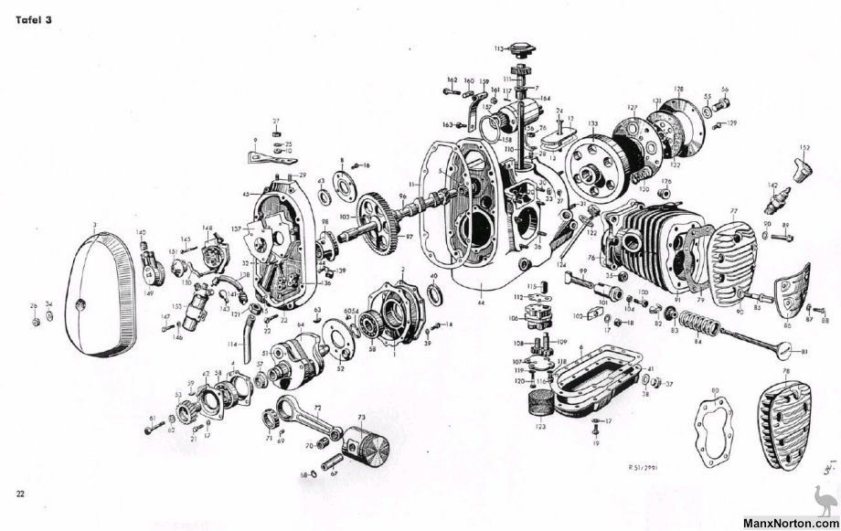 Bmw R12 1936 Engine With Images Technical Drawing Technical