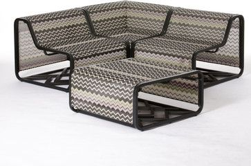 Missoni For Target 4 Pc Patio Sectional Patio Furniture And Outdoor Furniture Target Patio Furniture Clearance Patio Furniture Sectional Patio Furniture
