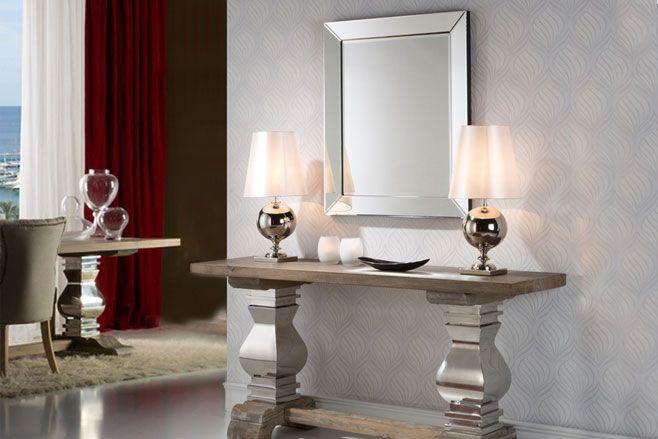Los espejos decorativos son perfectos para completar la for Espejos decorativos para pasillos