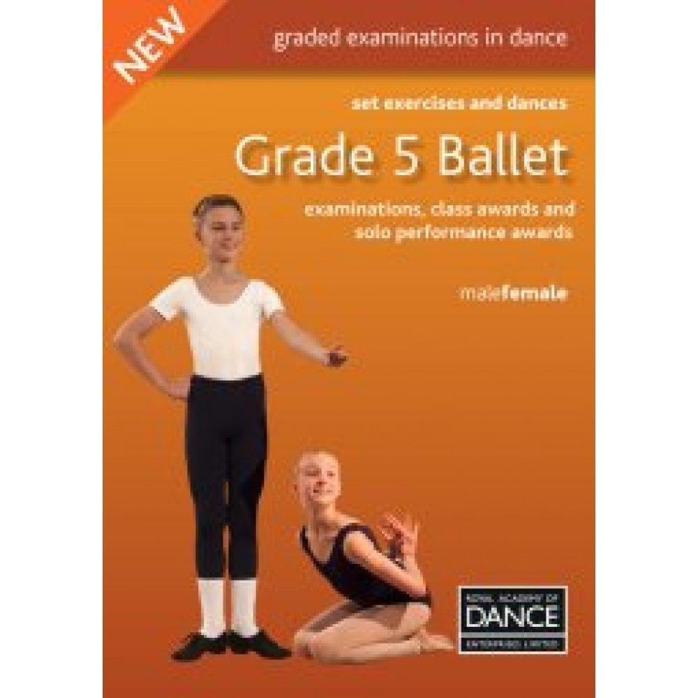 Grade 5 Ballet Set Exercises & Dances Book - Grade 5 Ballet Set
