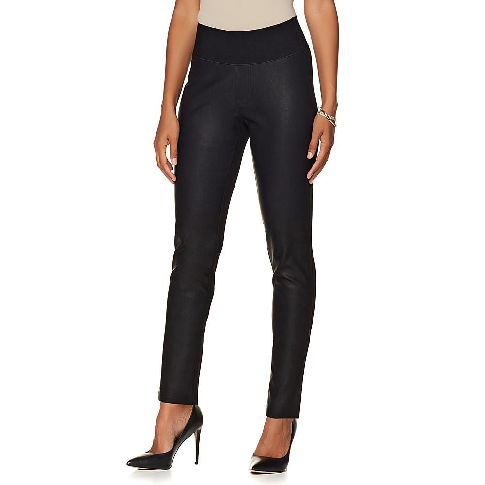 d14f406ca837b DG2 by Diane Gilman Ponte and Faux Leather Jegging - 8183784 ...