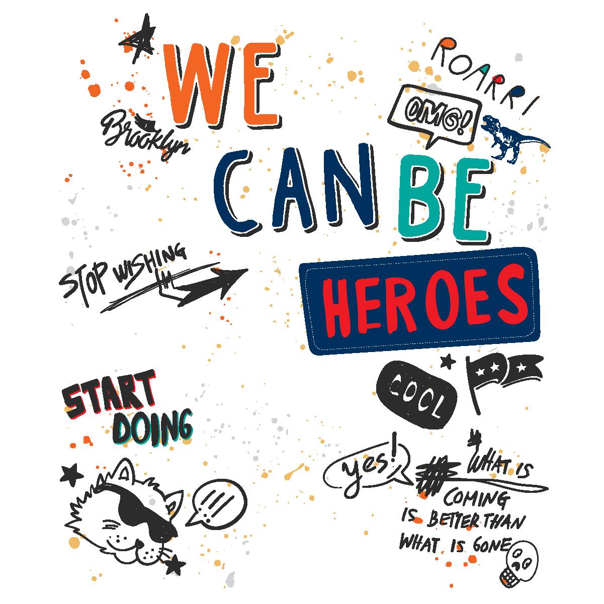 we can be heroesdesignillustrationInspirationChildren