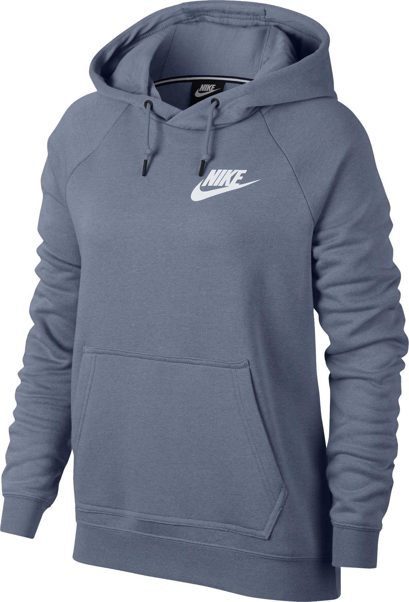 hot sale online 4c567 66e64 Nike Women s Plus Size Sportswear Rally Hoodie, Size  Medium, Ashen Slate