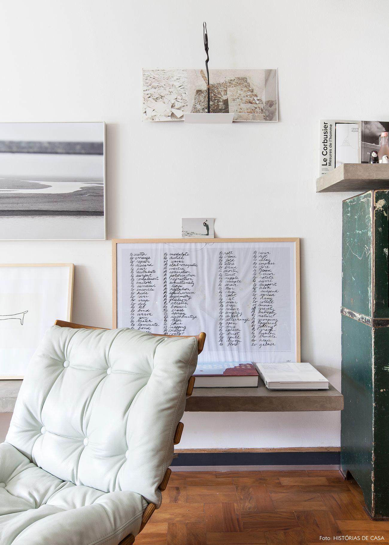 Como Usar Cores Escuras Na Decora O Mid Century Modern Furniture  -> Parede Galeria Sala